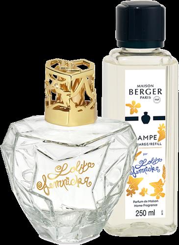 LAMPE BERGER GIFT SET LOLITA LEMPICKA TRANSPARENTE
