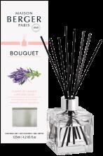 LAMPE BERGER Geurstokjes Bouquet Parfumé Cube Champs de lavande