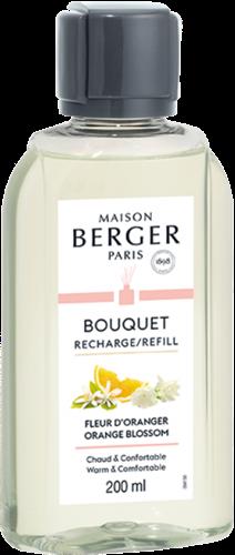 LAMPE BERGER Recharge Bouquet 200ml Fleur d'Oranger