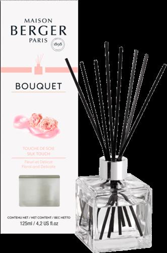 LAMPE BERGER Geurstokjes Bouquet Parfumé Cube Touche de Soie