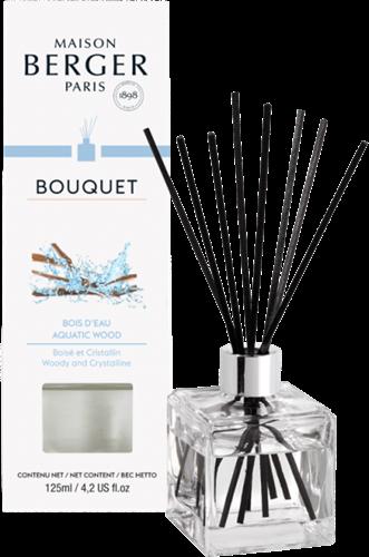 LAMPE BERGER Geurstokjes Bouquet Parfumé Cube Bois d'Eau