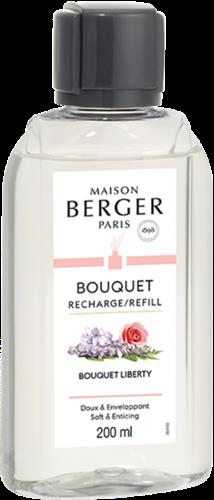 LAMPE BERGER Navulling geurstokjes Recharge 200ml Bouquet Liberty