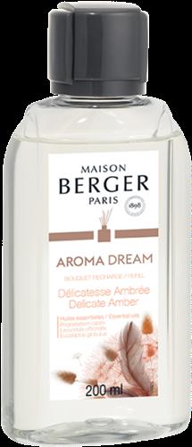 LAMPE BERGER Navulling geurstokjes AROMA DREAM-DELICATESSE AMBREE