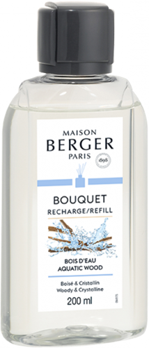 LAMPE BERGER Navulling geurstokjes Recharge 200ml Bois d'Eau