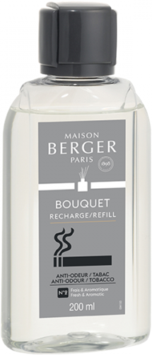 LAMPE BERGER Navulling geurstokjes AO TABAC2 frais-aromat.-TOBACCO2 fresh-aromat.