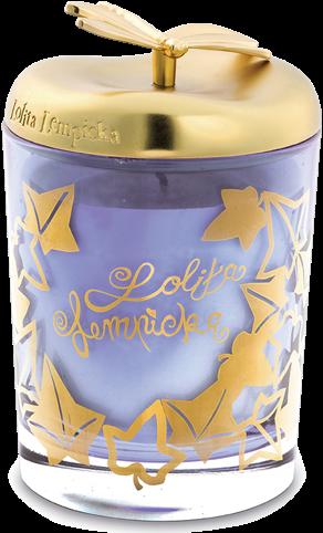 LAMPE BERGER Kaars Lolita Lempicka BOUGIE PARME-PAARS