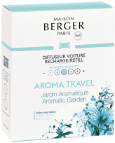 LAMPE BERGER RECHARGE DIFF.VOITURE AROMA TRAVEL