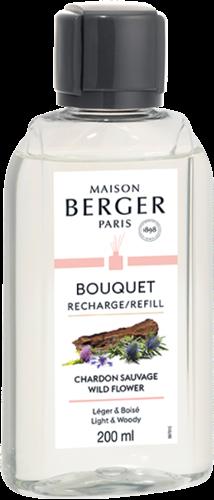 LAMPE BERGER Navulling geurstokjes Recharge 200ml Chardon Sauvage