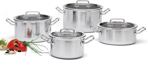 SPRING 0480800604 Brigade Premium kookpottenset 4 delig