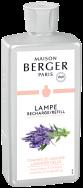LAMPE BERGER PARFUM LAMP 1L CHANT DE LAVANDE - LAVENDER FIELDS