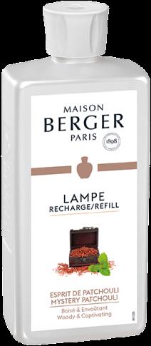 LAMPE BERGER PARFUM 500ML ESPRIT DE PATCHOULI-MYSTERY PATCHOULI