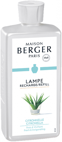 LAMPE BERGER PARFUM LAMP 500 ML CITRONELLE- CITRONELA