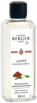 LAMPE BERGER PARFUM LAMP 1L TENTATION SANTAL- SANDALWOOD TEMPTATION