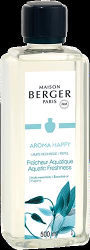 LAMPE BERGER PARFUM 500ML AROMA HAPPY- AQUATIQUE