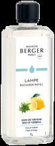 LAMPE BERGER PARFUM LAMP 1L ZESTE DE VERVEINE-ZEST OF VERBENA