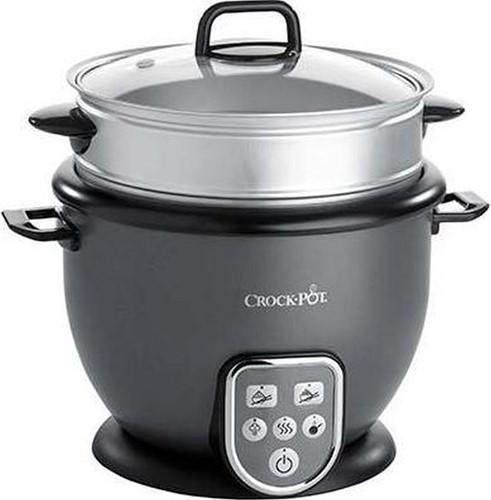 CROCKPOT Rijstkoker met stoomtray en functies 1,8L (max. 10 cups ongekookte rijst)