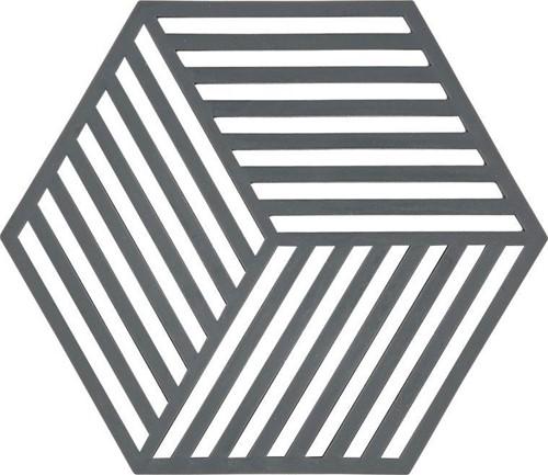 ZONE DENMAKR Trivet Cool Grey Hexagon