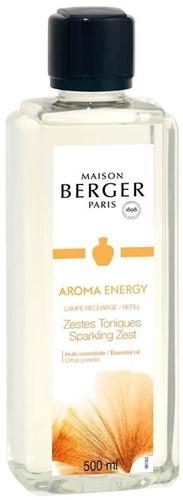 LAMPE BERGER PARFUM 500ML AROMA ENERGY- ZESTES TONIQUES
