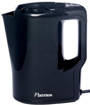BESTRON AWK810 Waterkoker 0,9L 500W Zwart