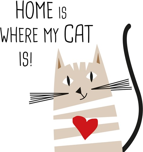 PPD Home Cat 33x33 cm
