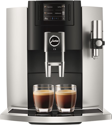 JURA E8 Platinum Koffiemachine volautomaat
