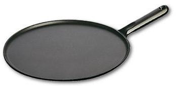 STAUB Pannenkoekenpan gietijzeren greep 30 cm - zwart