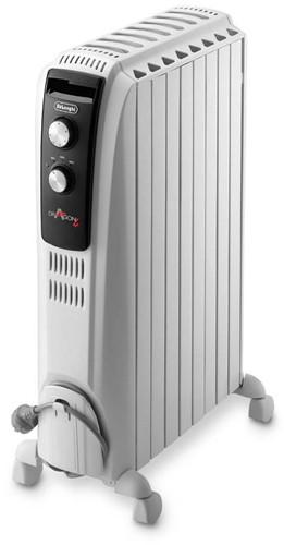 DELONGHI Olie radiator 60m³, fins, 3 heating settings, max 2000W
