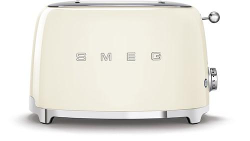 SMEG TSF01CREU Broodrooster - 2 sleuven 2 sneden - crème
