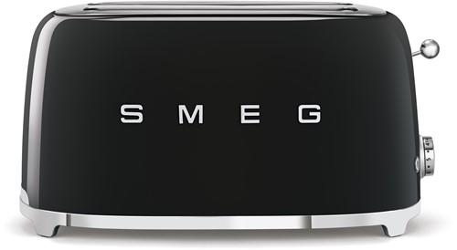 SMEG TSF02BLEU Broodrooster - 2 sleuven 4 sneden - zwart
