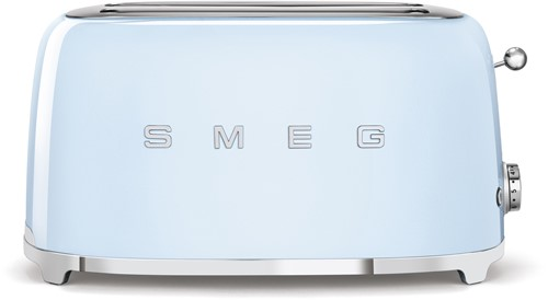 SMEG TSF02PBEU Broodrooster - 2 sleuven 4 sneden - pastelblauw