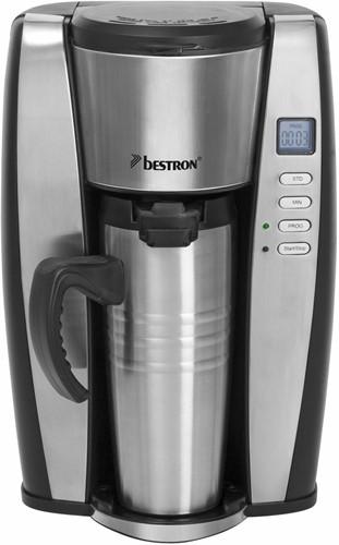 BESTRON ACUP650 Personal thermo koffiezetter Zwart/Rvs