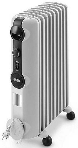 DELONGHI Olie radiator 75m³, 12 fins, 3 heating settings, max 2500W