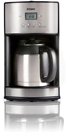DOMO DO474K Koffiezet zwart + isoleerkan 1,2L