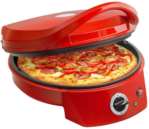 BESTRON APZ400 Pizza Maker Ø 27cm Rood