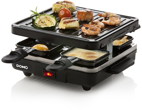 DOMO 'JUST US' RACLETTE GRILL DO9147G