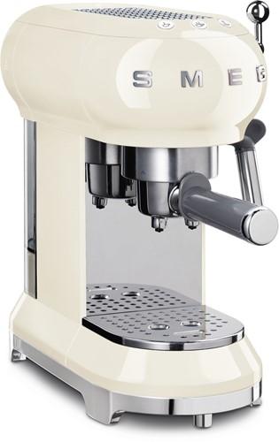 SMEG ECF01CREU Espresso koffiemachine - crème