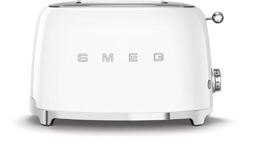 SMEG TSF01WHEU Broodrooster - 2 sleuven 2 sneden - wit