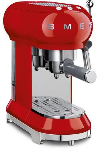 SMEG ECF01RDEU Espresso koffiemachine - rood