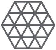 ZONE DENMAKR Trivet Cool Grey Triangle