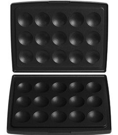 FRITEL Set bakplaten voor 15 Poffertjes - blini