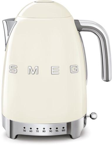 SMEG KLF04CREU Waterkoker - regelbare temperatuur - volume 1,7 liter - crème