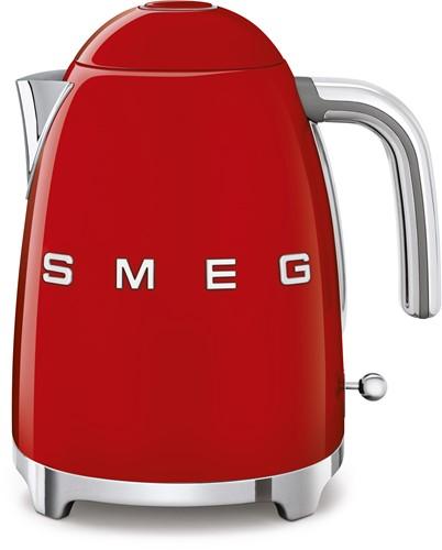 SMEG KLF03RDEU Waterkoker - volume 1,7 liter - rood