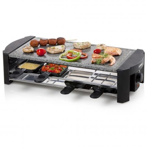 DOMO STEENGRILL-RACLETTE DO9186G