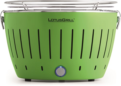 LOTUSGRILL Classic Hybrid Tafelbarbecue - Ø350mm Groen