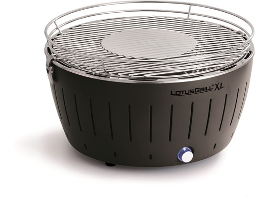 LOTUSGRILL XL Hybrid Tafelbarbecue - Ø435mm Zwart