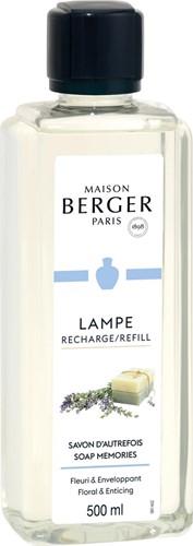 LAMPE BERGER PARFUM 500ML SAVON D'AUTREFOIS-SOAP MEMORIES