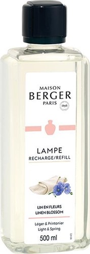 LAMPE BERGER PARFUM 500ML LIN EN FLEURS-LINEN BLOSSOM