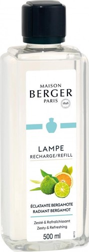 LAMPE BERGER PARFUM 500ML ECLATANTE BERGAMOTE-RADIANT BERGAMOT