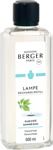 LAMPE BERGER PARFUM 500ML PLUIE D'ETE-SUMMER RAIN