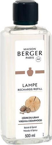 LAMPE BERGER PARFUM 500ML CEDRE DU LIBAN - VIRGINIA CEDARWOOD